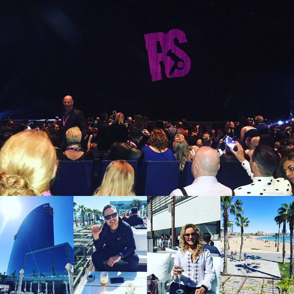 Chief Wigs Claire & Paul Travel To Barcelona For Redken Symposium 2016