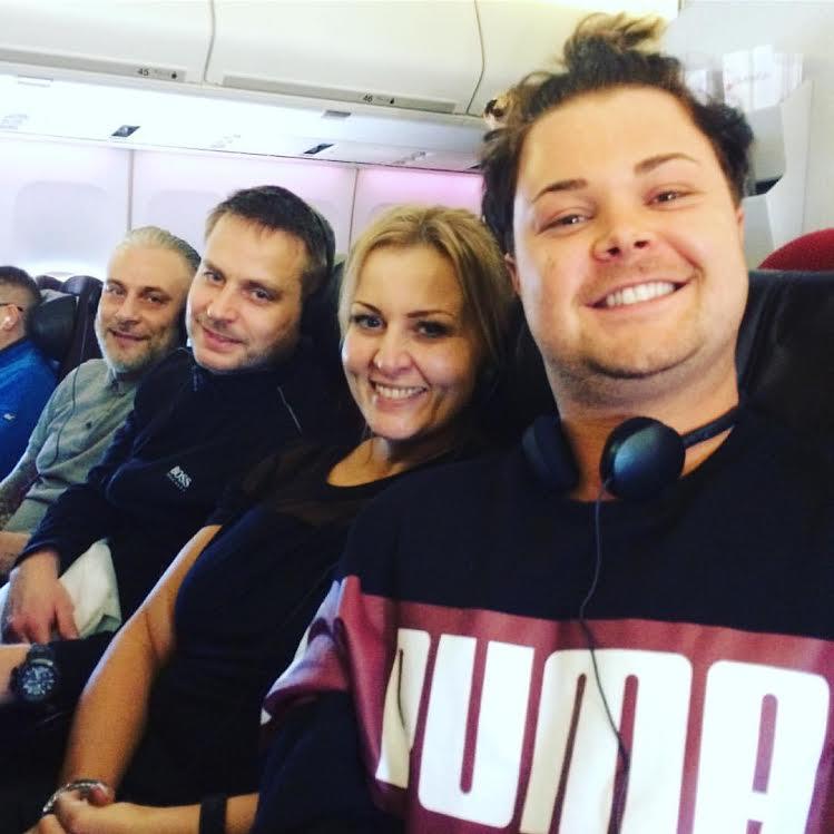 Chris & Alison Win Trip To Redken Symposium 2017 in Las Vegas & Miami