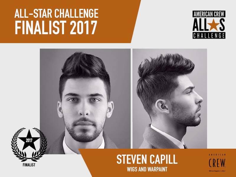 Wigs Stylist Steve Capps American Crew 'All Star Challenge' FINALIST!