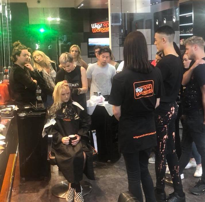 Balayage & Crazily Creative Colour Training with Michelle Marshall