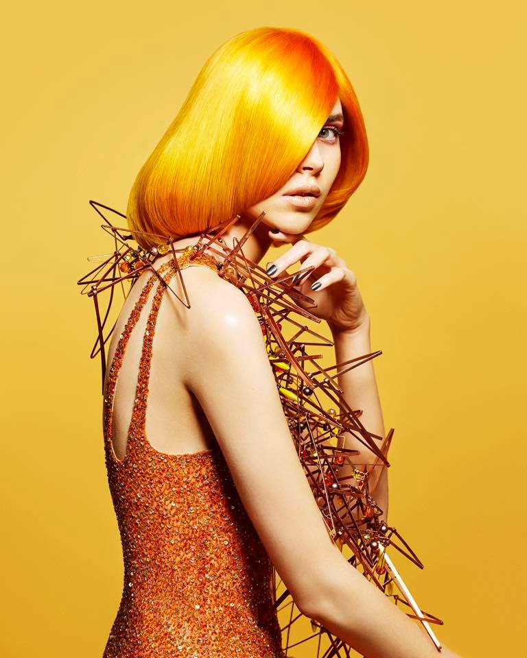 Claire Flack Collection, The British Hairdressing Awards 2018