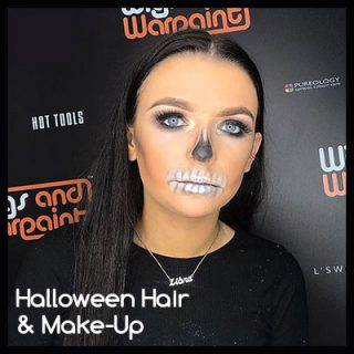 Book Your Halloween Hair & Make-Up Appointments
