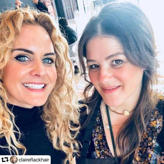 Chief Wig Claire Flack Assists Celeb Super-Stylist Tracey Cunningham