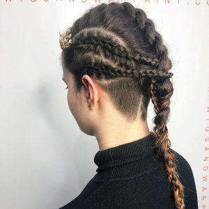 Prom braids