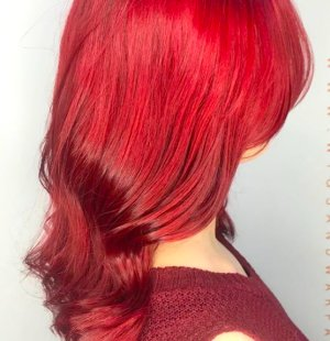 Red Hair Colours Salon in Sheffield