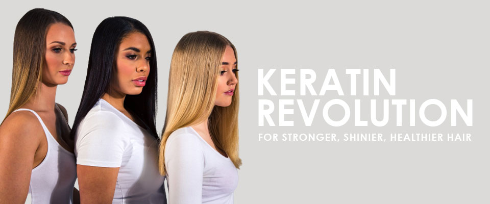 KERATIN REVOLUTION For Smoother Frizz Free Manageable Hair