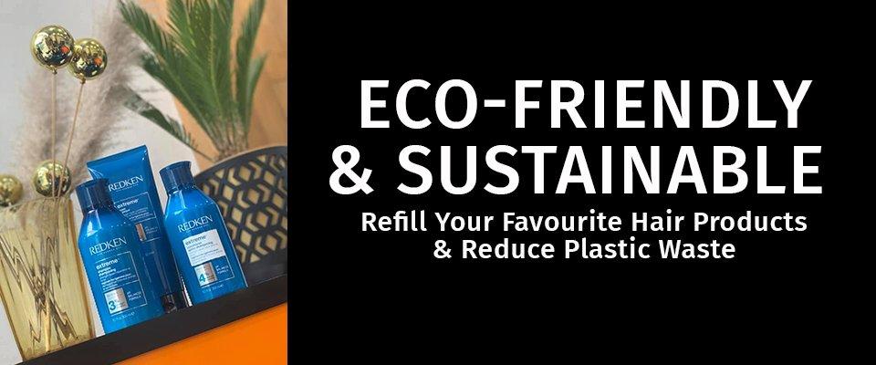 eco friendly banner black