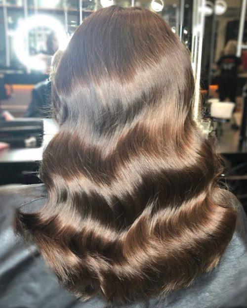 CHOCOLATE BROWN HAIR COLOUR SHEFFIELD SALON