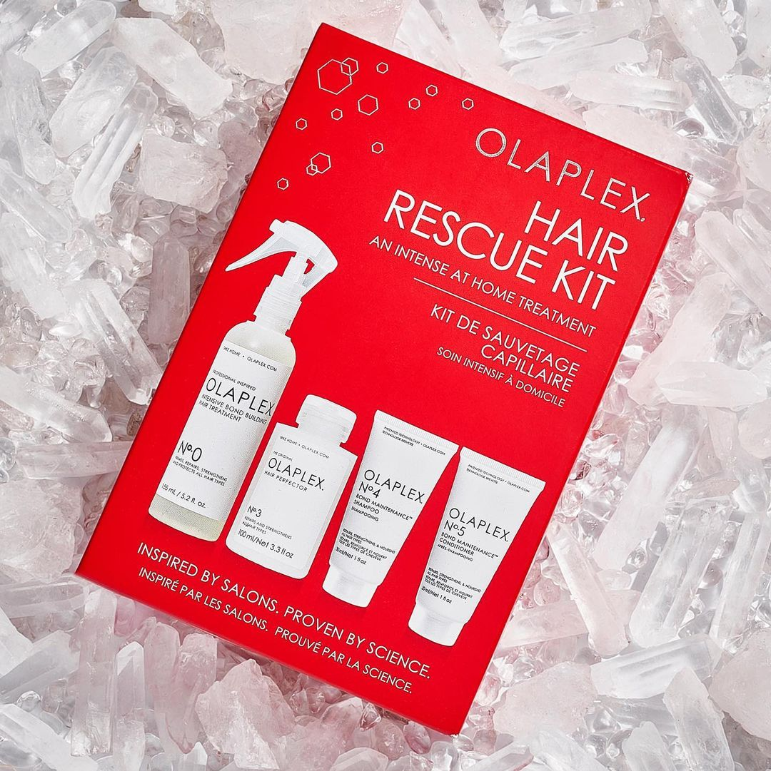 OLAPLEX Christmas Gift Pack Wigs Warpaint salon Sheffied